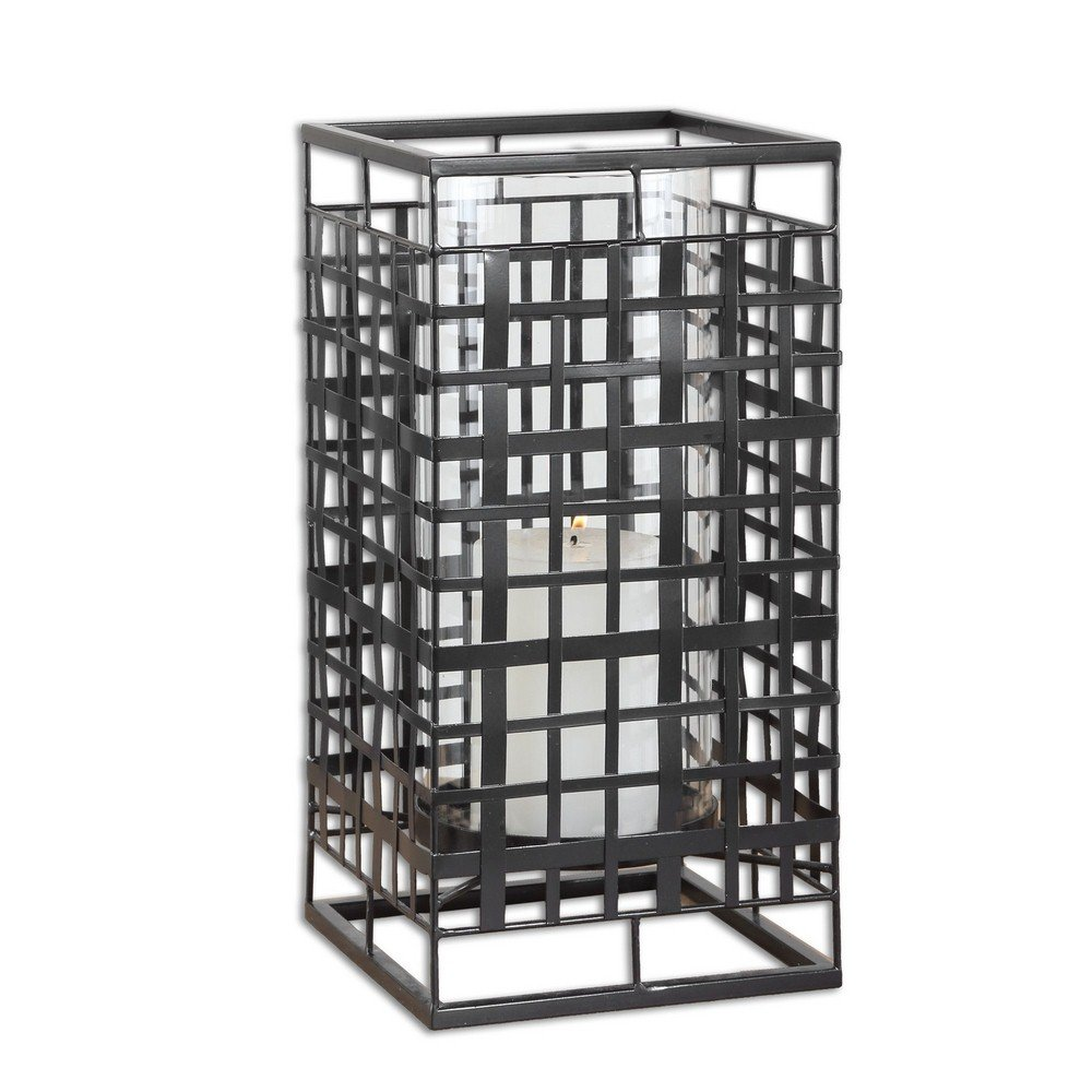 Uttermost 19973 Caged in Metal Candleholder