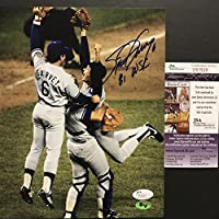 "Autographed/Signed Steve Garvey ""81 WSC"" Los Angeles LA Dodgers 8x10 Baseball Photo JSA COA"