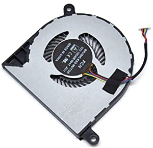 BAY Direct Replacement 4-Wire 4-Pin CPU Cooling Fan for Dell Inspiron 13 5000 5368 5378 5379 13MF Inspiron 15 7378 7579 7569 Series Compatible Part Number: 31TPT 031TPT CN-031TPT