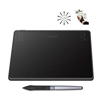 Huion HS64 Graphics Drawing Tablet Android Devices Supported 8192 Pen  Pressure with Battery-Free Stylus