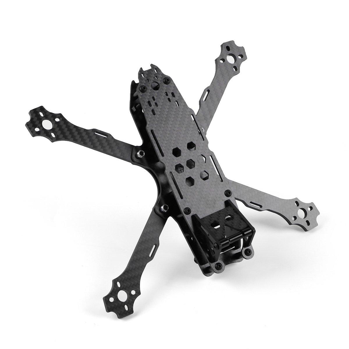 215mm FPV Racing Drone Frame para Fibra de Carbono Quadcopter Frame Kit con Correa de bater/ía