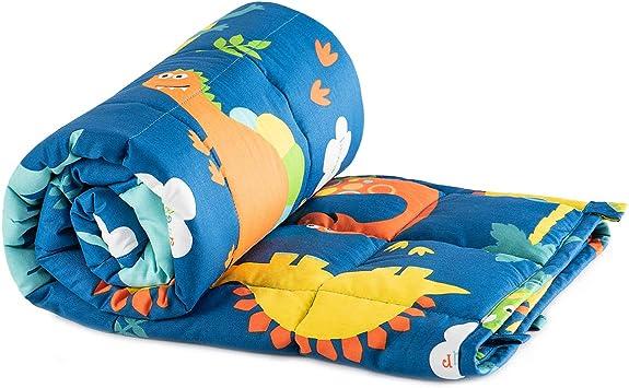 ZonLi Weighted Blanket Heavy Blanket 2.0 41x60,07lbs, Dinosaur