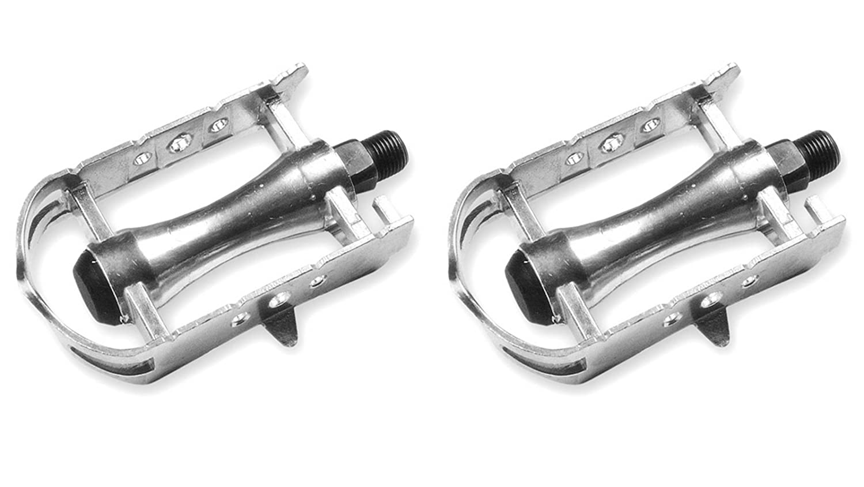 Pedales Retro Vintage de Aluminio para Bicicleta de Carretera Fixie M-14 3195