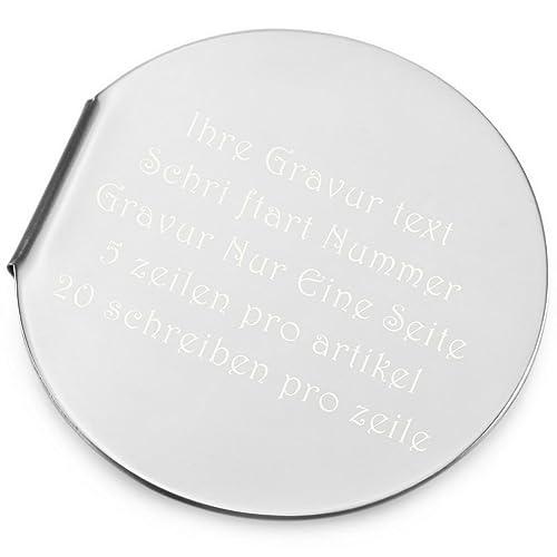 Herren Geldscheinklammer Edelstahl Geldklammer Geldclip Silber