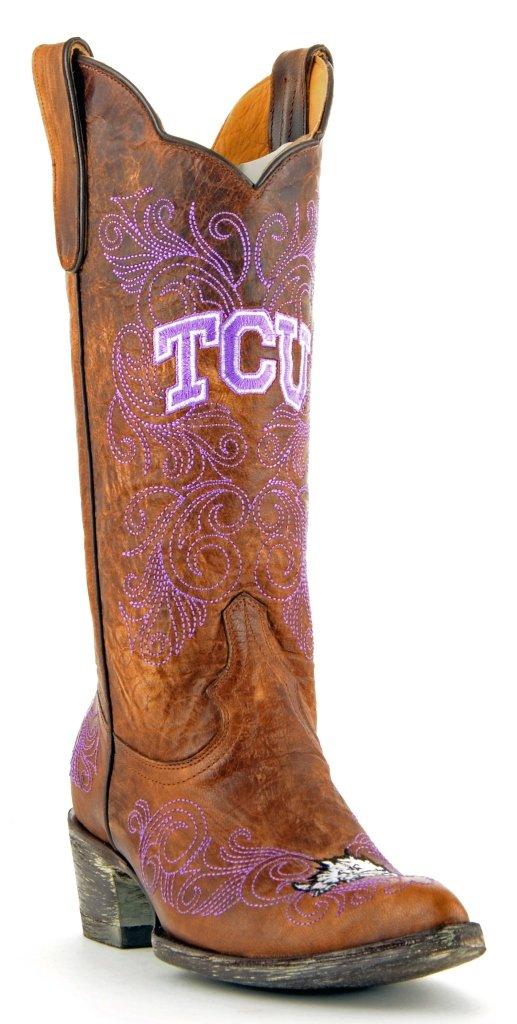 『5年保証』 NCAA TCU TCU Horned Frogsレディース13インチGamedayブーツ B00PJMEIOI 7.5 (M) B (M) NCAA US|ブラス ブラス 7.5 B (M) US, みきぞうママのタオル工房:521da590 --- arianechie.dominiotemporario.com