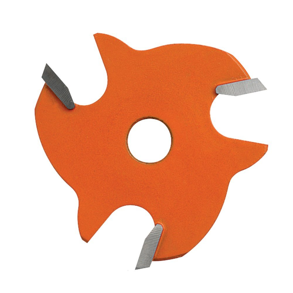 CMT 822.348.11 3-Wing Slot Cutter  with  3/16-Inch Cutting Length and 5/16-Inch Bore