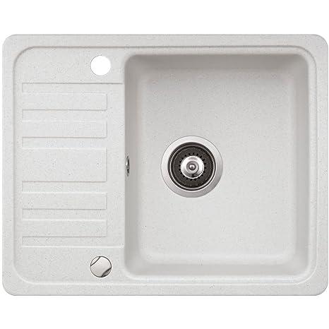 Lavello cucina in granito montaggio angolare lavello rotella piccolo ...