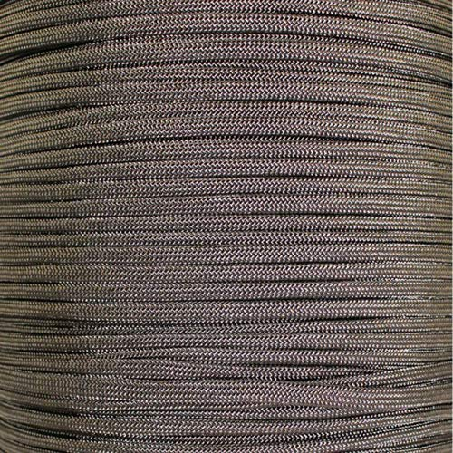SGT KNOTS Paracord 550 Type III 7 Strand - 100% Nylon Core and Shell 550 lb Tensile Strength Utility Parachute Cord for Crafting, Tie-Downs, Camping, Handle Wraps (Acid Dark Brown - 10 ft)