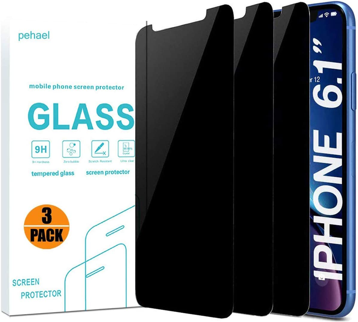 Pehael 3D Touch 3 Pack Privacy Screen Protector $5.10 Coupon