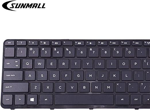 Laptop Keyboard for HP 15-P000 9Z.N9HBQ.901 United States US 762529-001 Without Frame Black with Backlight United States US