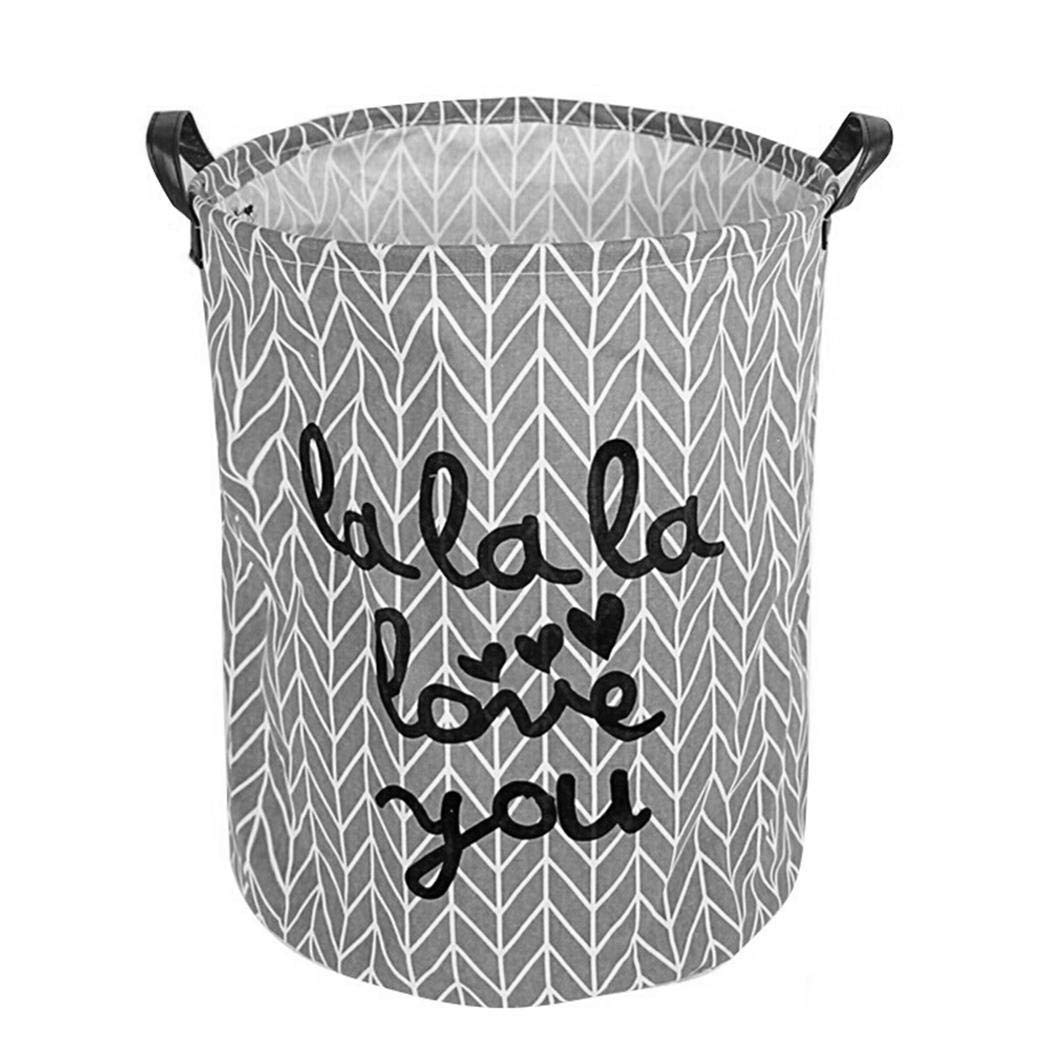 ICCUN Clothes Storage Bin for Baby Nursery to Hold Baby Clothes Blankets Towels Toys Laundry Hampers