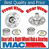 #9: (2) REAR 100% All New Axle Hub & Bearing Kit for Honda CRV Rear 2005-2006