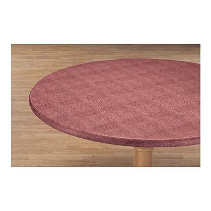 amazon com illusion weave vinyl elasticized table cover by hsk rh amazon com elasticated table covers uk elasticized table cover rectangle