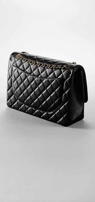 CHANEL Large Classic Flap Bag Gold Metal A58601 Y01295 C3906  Amazon.ca   Shoes   Handbags 596cdf41b5b18
