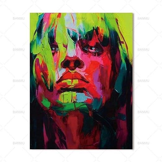 tzxdbh Imagen del Arte de la Pared Pintura de la Lona Decoración Moderna del hogar Figuras