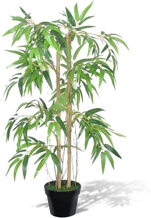 vidaXL Bambú Artificial Twiggy En Maceta, 90 cm Decorativo Casa Jardín: Amazon.es: Jardín