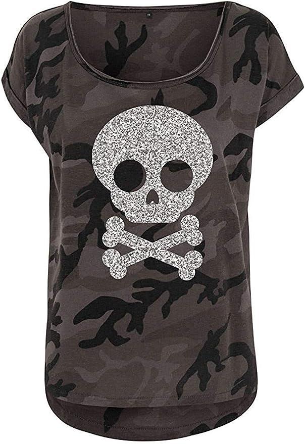 Acheter t-shirt femme tete de mort online 10