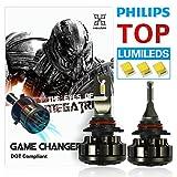 headlight bulbs 9012 - HIKARI Ultra LED Headlight Bulbs Conversion Kit -9012,Philips Lumileds 12000lm 6K Cool White,2 Yr Warranty