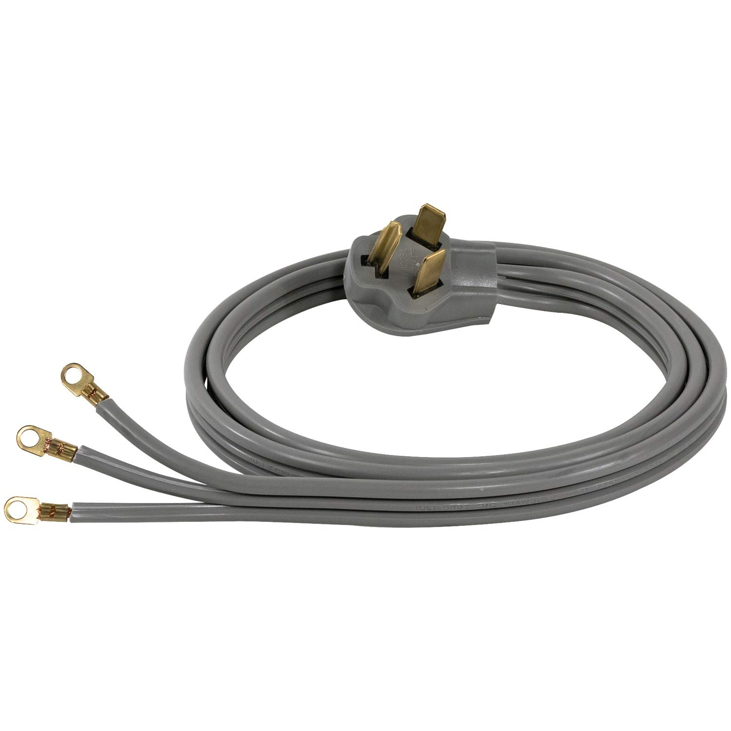 Certified Appliance Accessories 3 Wire Closed Eyelet 30 Prong Plug Wiring 4 Dryer Cord Red Amp 6ft Home Improvement