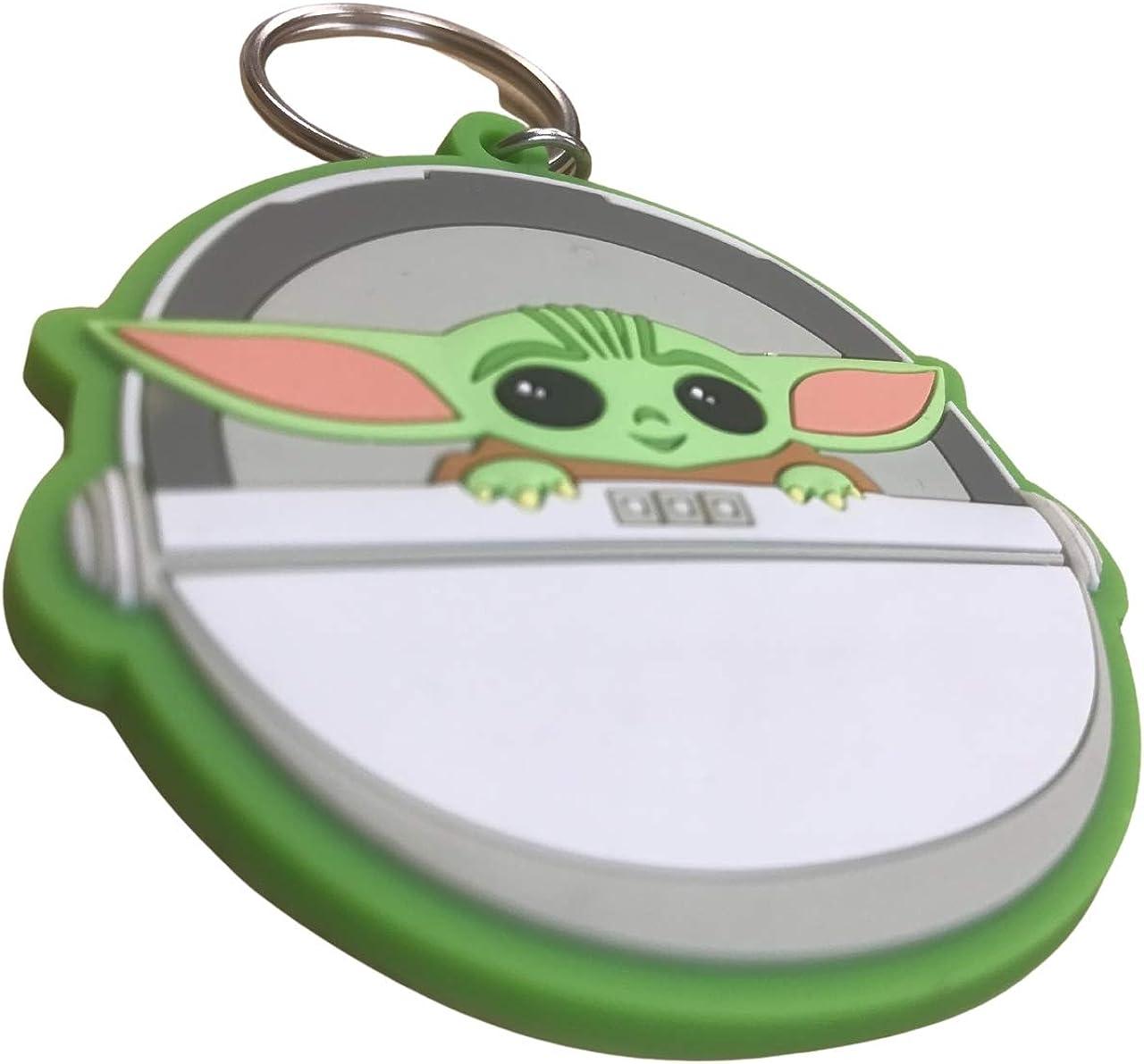 Cerd/á Llavero 3D Baby Yoda-Licencia Oficial Star Wars Porte cl/é Mixte Petite Taille Divers
