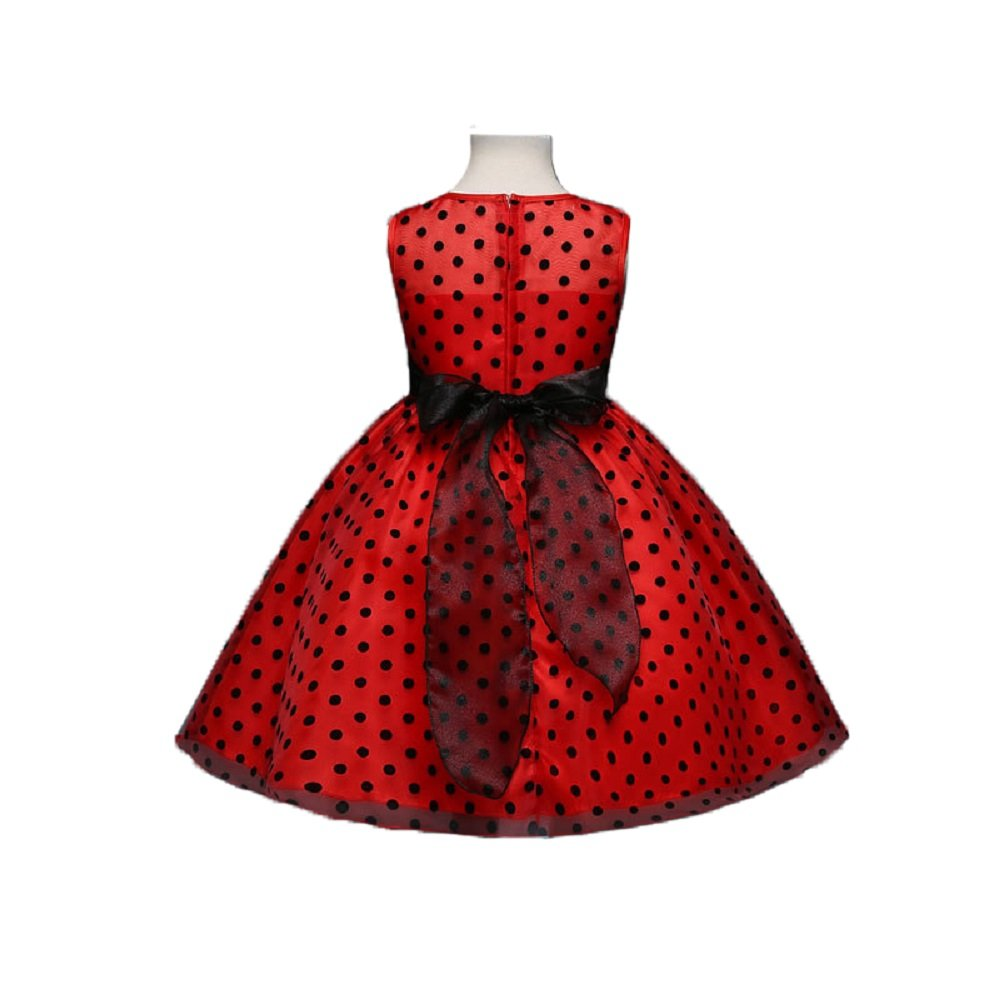 888531225d red and black polka dot dress – Little Black Dress | Black Lace ...