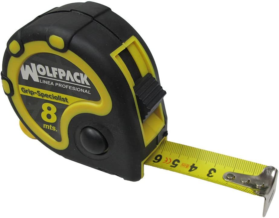 8 m Wolfpack 2302020 Flessometro con freno