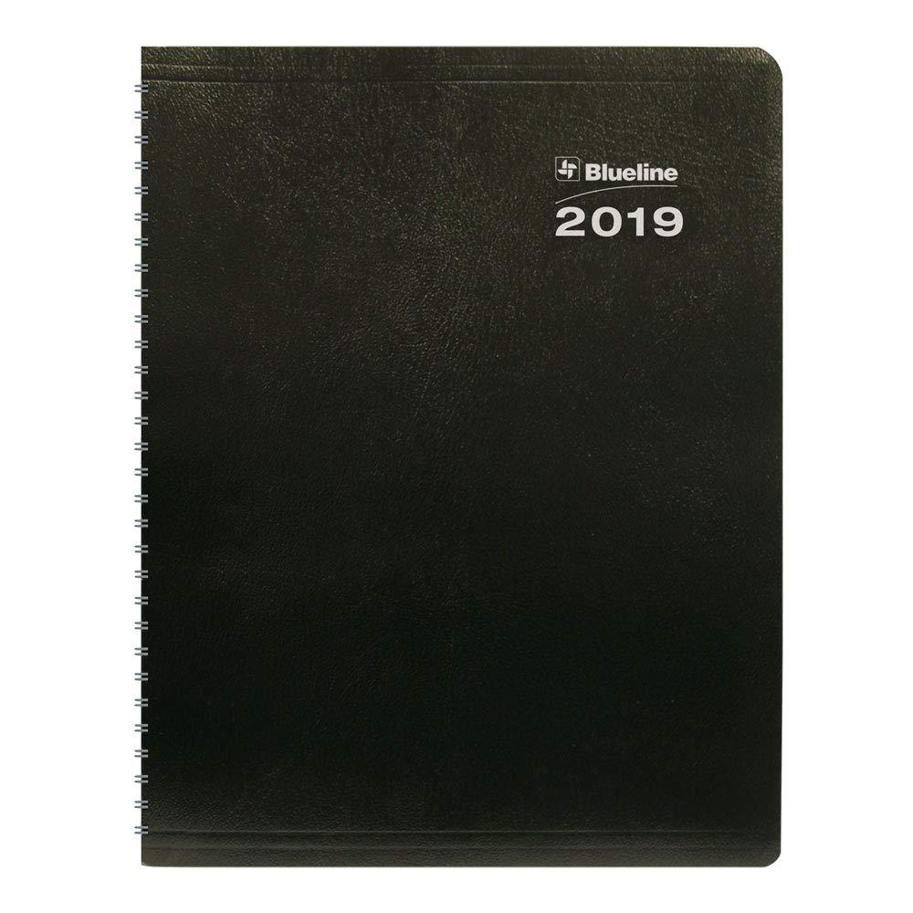 Blueline C235.21T-2019 2019 DuraGlobe 14-Month Planner, Sugarcane Based Paper, English, 11 x 8-1/2 11 x 8-1/2 Blueline Canada C235.21T-19