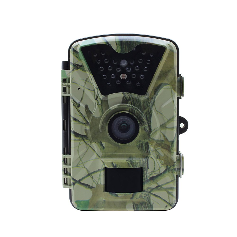 Lixada HD Wildlife Trail Camera Trap 12MP Infrared Cam with Night Vision, 120°Wide Angle Motion Activated 2.4in LCD Display for Outdoor Nature Garden Home Security Surveillance by Lixada (Image #2)