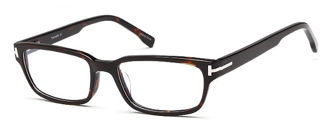 a141f9cc940a0 Mens Retro Wayfarer Thick Full Rimmed Prescription Glasses in Tortoise