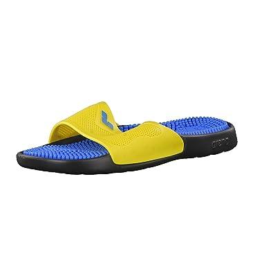 ed76d8b07cf Arena Marco X Grip Massage de Bain antidérapant Unisexe - Noir - Solid  Black-Yellow