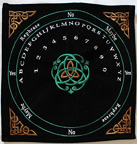Pendulum Mat Celtic (Black with Colors) Celtic Pendulum