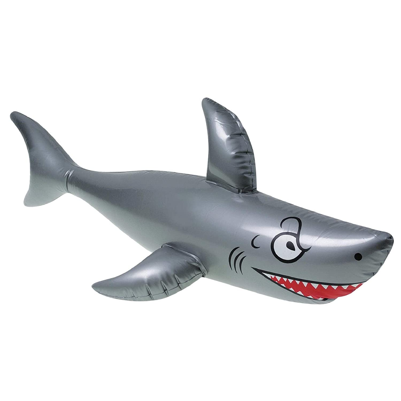"One 40"" Long Vinyl Inflatable Shark"