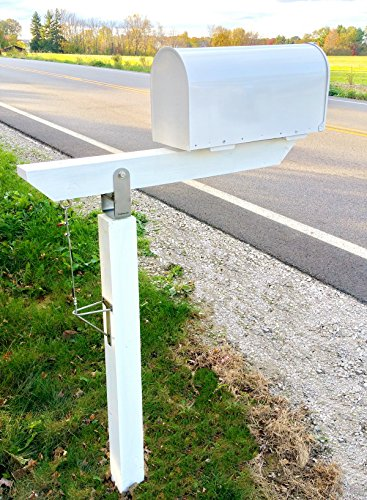 (DIY Plow Resistant Mailbox Post Hardware Kit - Stainless Steel - Premium)