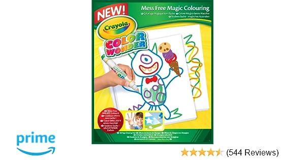 amazon com crayola color wonder drawing paper 30 sheets toys games