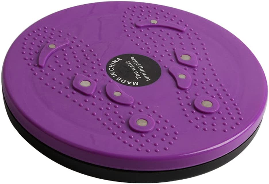 Exercise Twist Board, Ankle Body Aerobic and Cardio Exercise Twist Board with Precision Ball-Bearing, Foot Massage, and Rotating Non-Slip Safety Platform, Waist Exercise Tool