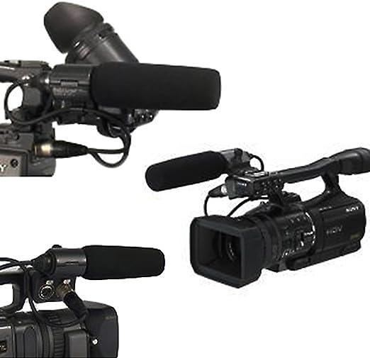Micrófono para Sony ECM-NV1 DSR-250 HVR-Z1C PANASONIC AJ-MC700P HMC-153MC 180B