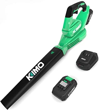 Kimo 20V Cordless Blower with Battery and Charger