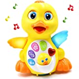 Fantastic Zone Light Up Dancing and Singing Musical Duck Toy - Infant, Baby and Toddler Musical and Educational Toy for…