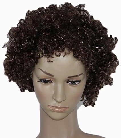 Carlo Capellini rizado pelucas de disfraces Funky Afro Disco estilo payaso para hombre/mujer disfraz