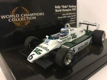 Minichamps Williams FW08 1982 - Keke Rosberg 1982 F1 World ...