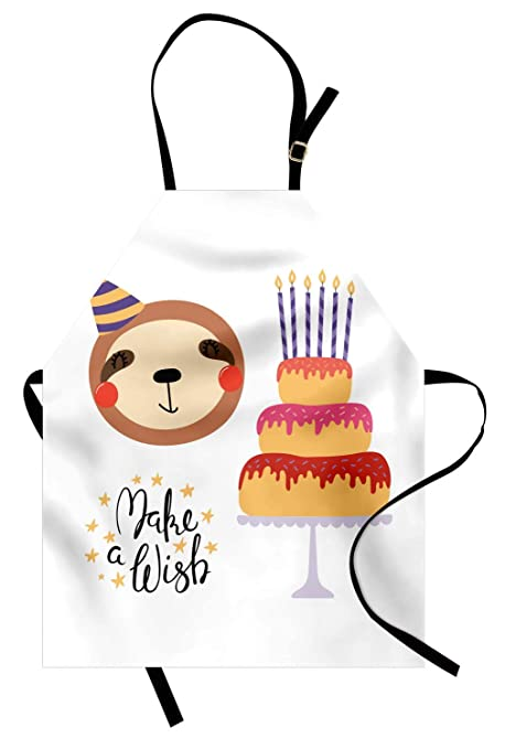 Delantal de cumpleaños, fiesta de cumpleaños Donuts Pastel ...