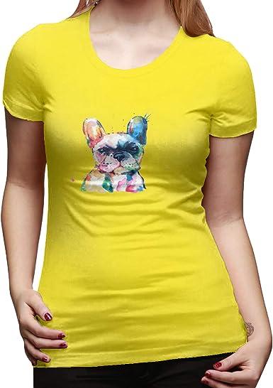 Cotton Frenchie French Bulldog - Camiseta básica de manga ...