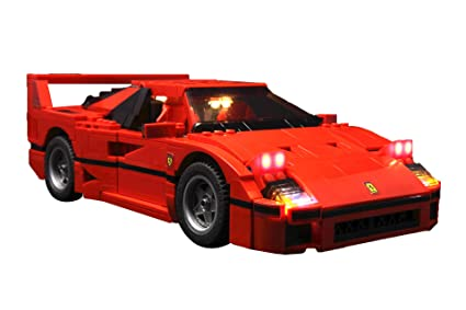 Brick Loot Lighting Kit for Your Lego Ferrari F40 Set 10248 (Lego Set NOT Included
