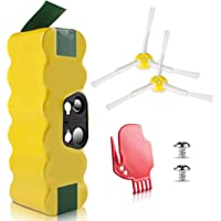 [UL&CE Approval] Morpilot ® 3800mAh 14.4V Extended Super Long Life 1000-Circles Battery for Irobot Roomba 500/600/700/800 Series 500 510 530 531 570 580 595 600 620 630 650 660 700 760 770 780 790 800