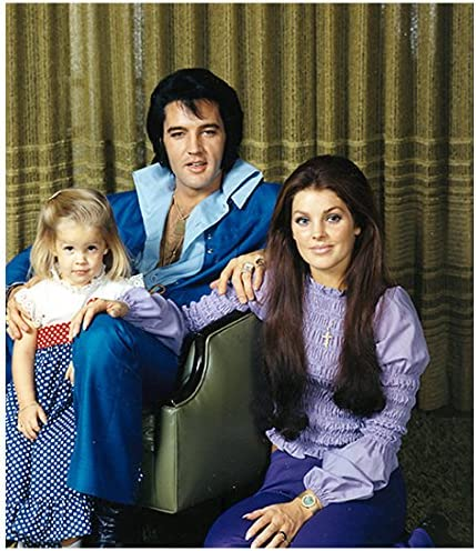 BABY BOY ELVIS PRESLEY WITH PARENTS 8X10 PHOTO COMBINED SHIPPING!!!!