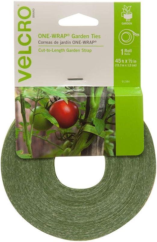Plant Hook /& Loop Fastener Strap Tie Cable Tomato Vegetable Stake Garden Caravan