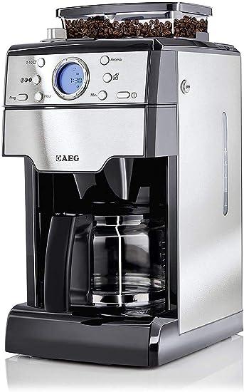 AEG KAM 300 - Cafetera con molinillo integrado y 9 grosores de ...