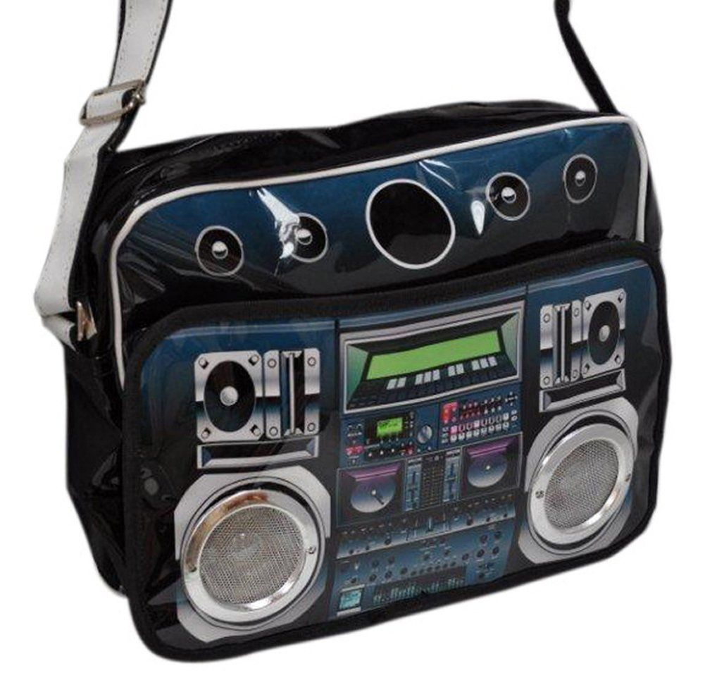 Boom Box Mp3 Speaker Shoulder Bag