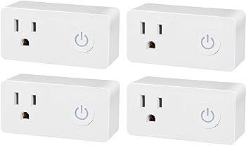 4-Pack BN-LINK Smart WiFi Outlet