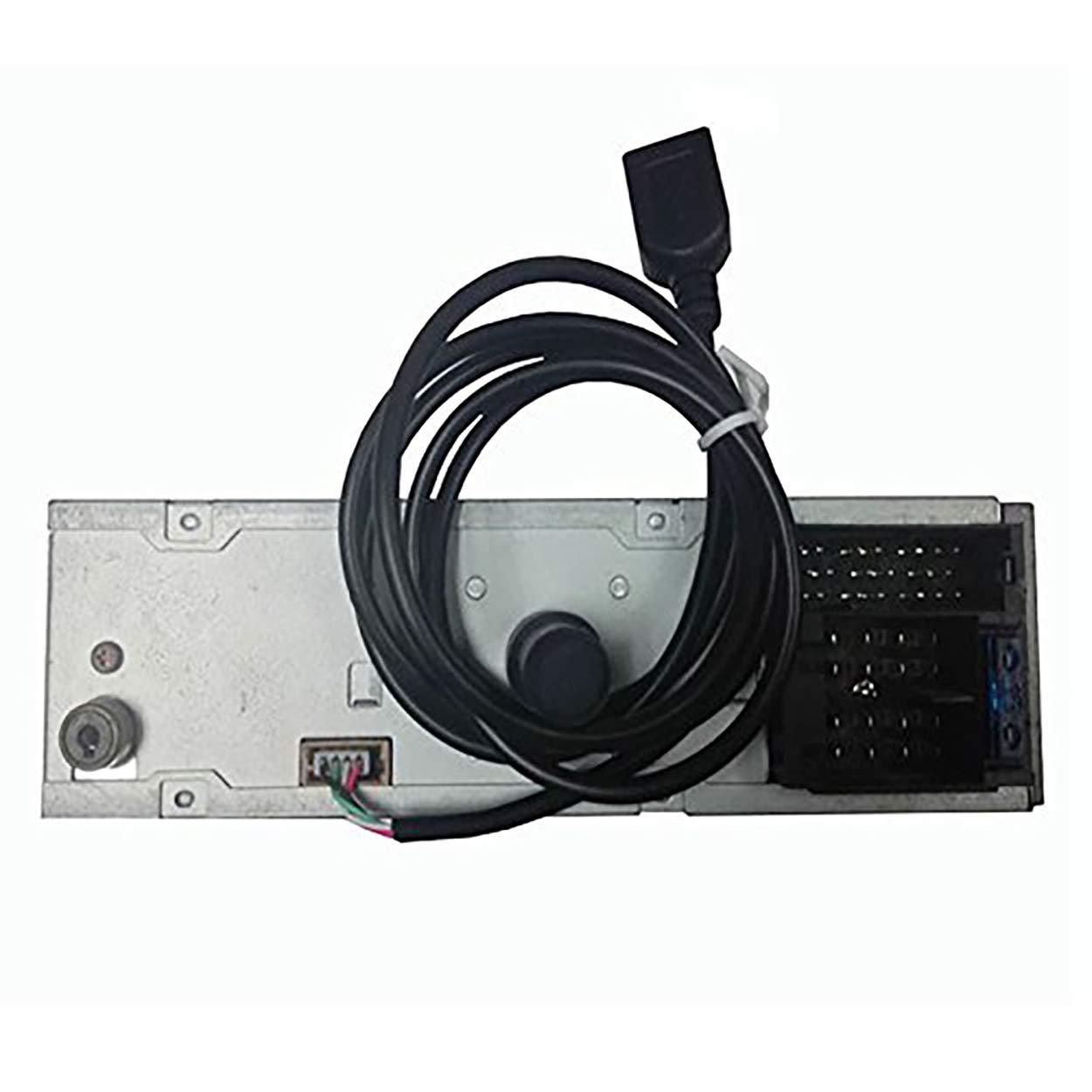 HarmonyHappy Ligne de c/âbles USB avec Outils de d/émontage Radio pour Peugeot 207 307 308 407 pour Citro/ën C2 C3 C4 RD9 RD43 RD45